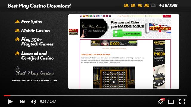 Eurogrand Casino Video